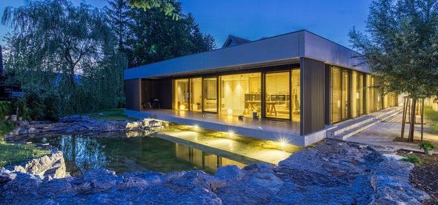 Het bouwen van een bungalow